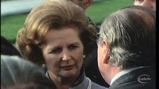 Thatcher: a European legacy