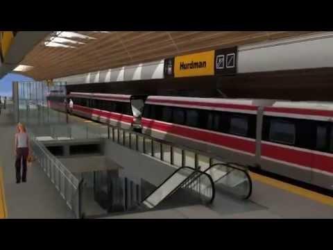 welcome To OC Transpo 02 Ottawa's LRT Hurdman Station