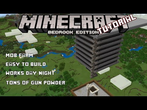 Best mob farm for Minecraft Bedrock Village and Pillage update (Windows 10, MCPE, Xbox One, Switch)