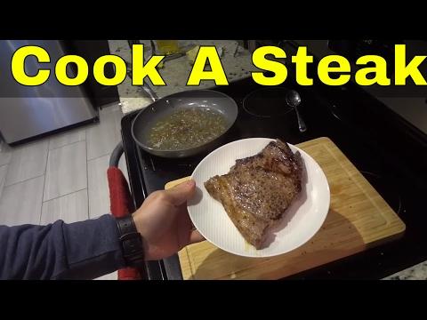 How To Cook Steak In A Frying Pan-EASY Tutorial