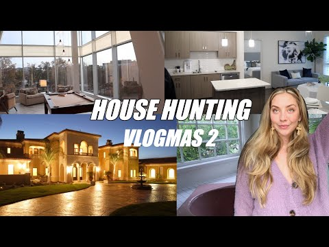 house hunting // VLOGMAS 2