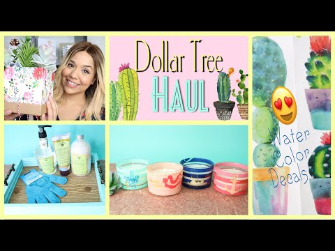Dollar Tree HAUL May 2018 SPRING Items and gift ideas!