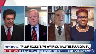 Ruth Edmonds on Trump Rally - Newsmax