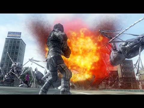 Earth Defence Force 2025 Call The EDF Trailer
