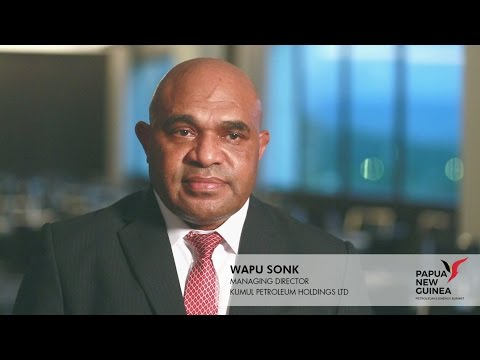 Wapu Sonk Papua New Guinea Petroleum Energy Summit 2017 YouTube