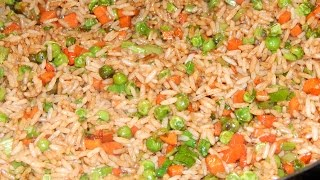 Trini Vegetable Fried Rice