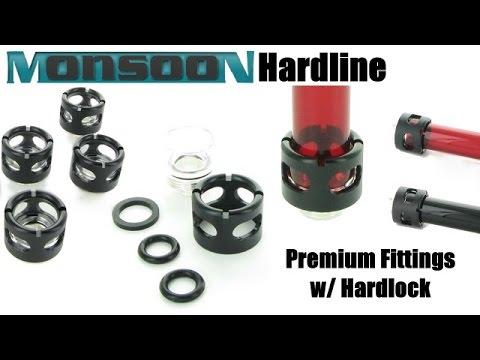 Monsoon Hardline Premium Fittings