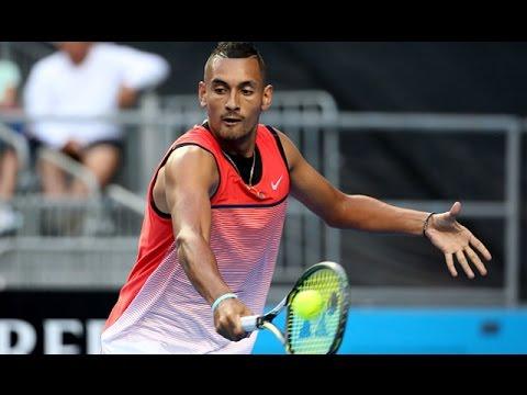 Nick Kyrgios v Pablo Carreno Busta highlights (1R)   Australian Open 2016