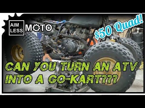 Yamaha Moto 4 ATV Valve Adjustment ATV To Buggy Build