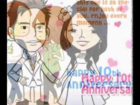 10th Anniversary E-card