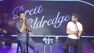 Brett Eldredge & Thomas Rhett - Whip/Nae Nae & Drag Me Down