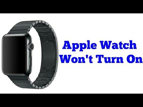 Apple Watch Series 5, 4, 3, 2 Won't Turn On (Fixed)