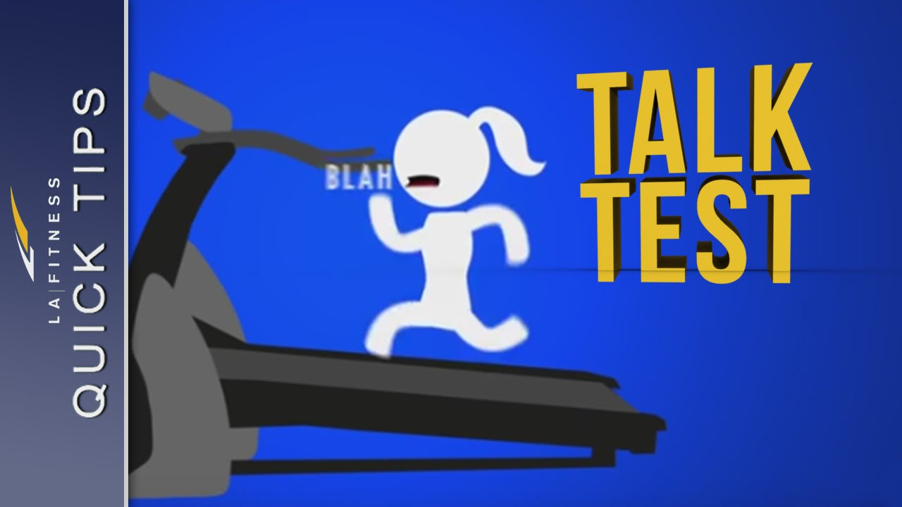 Using The Talk Test Quick Tips La Fitness Youtube