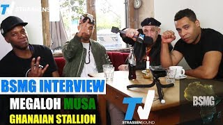 """BSMG Interview mit MC Bogy zum Album """"Platz An Der Sonne"""" - Megaloh, Ghanaian Stallion & Musa"""