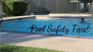 Pool Safety Tips for the whole family! Kids! Toddlers! Thumbnail
