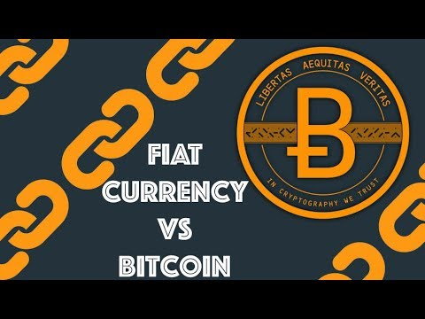 Cryptocurrency vs fiat currency podcast