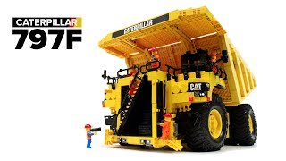 LEGO Technic RC Caterpillar 797F Dump Truck