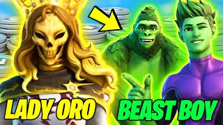 *NEW* Fortnite Update - ALL LEAKED SKINS, vBucks QUESTS - BEAST BOY, FEMALE ORO & More (v16.40)