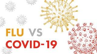 Flu vs COVID-19 - Signs and Symptoms