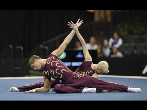 Acrobatic Worlds 2012, Orlando (USA) - Men's Pair (Part 3)