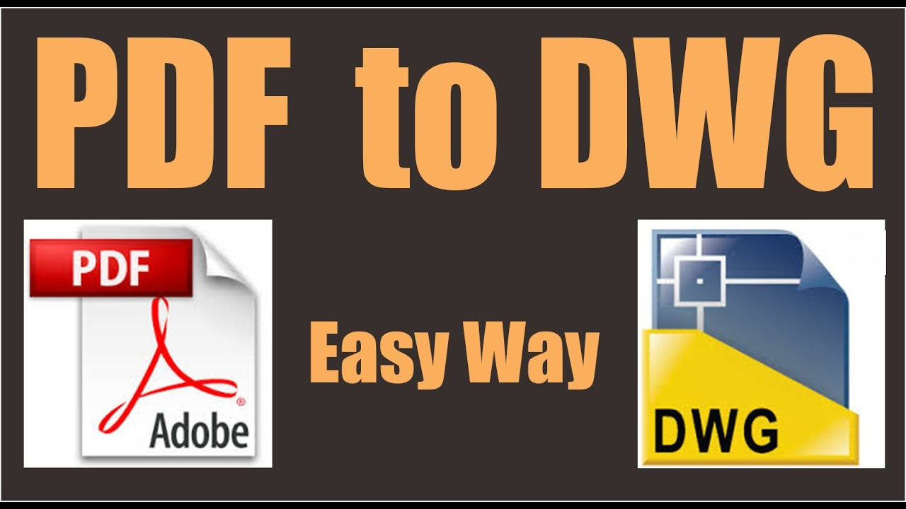 Convert pdf to dwg autocad 2017 without any other software for Pdf a cad