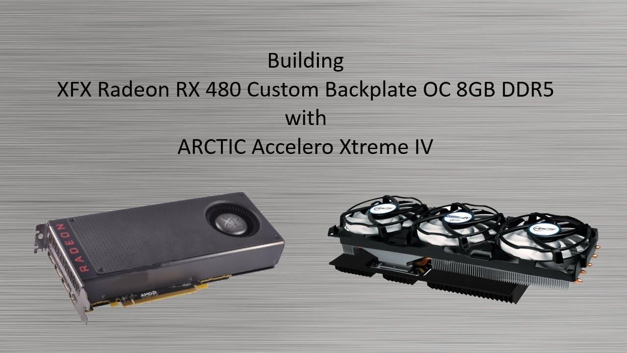 Radeon RX 480 with ARCTIC Accelero Xtreme IV