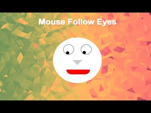 Jquery Mouse Follow Eyes, Website Mouse Tracking, Track Mouse Movement On Website,
