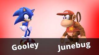WTT2 - Junebug (Diddy Kong) vs Gooley (Sonic) - Project M