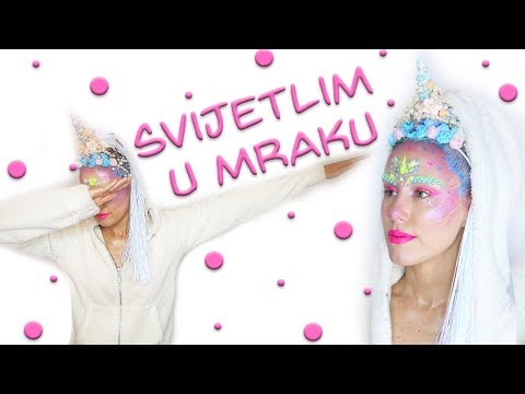 MAGICNI JEDNOROG MAKE UP TUTORIJAL