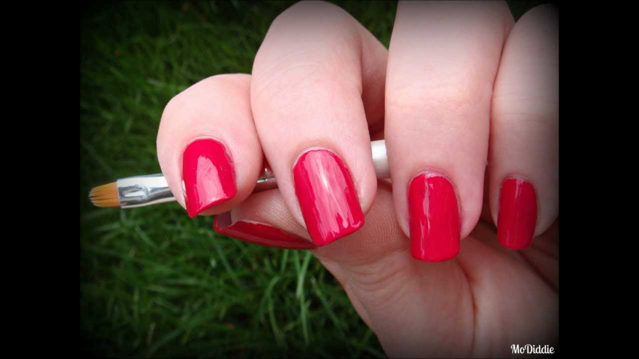 HOW TO: FLAWLESS NAIL CLEAN-UP (ELF BRUSH REVIEW AND DEMO ...