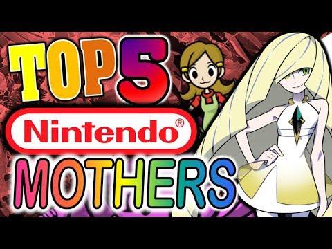 Top 5 Mothers in Nintendo Games