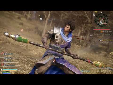 Dynasty Warriors 9 - Li Dian's Ending - Chaos Difficulty - Chapter 8: Battle of Hefei