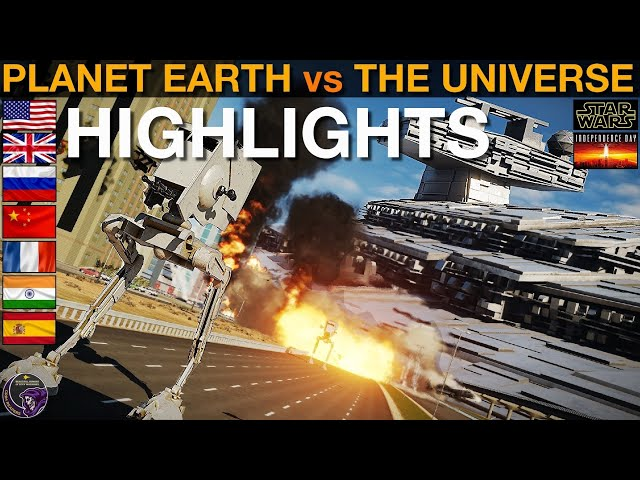 Planet Earth vs The Universe: Highlights | DCS