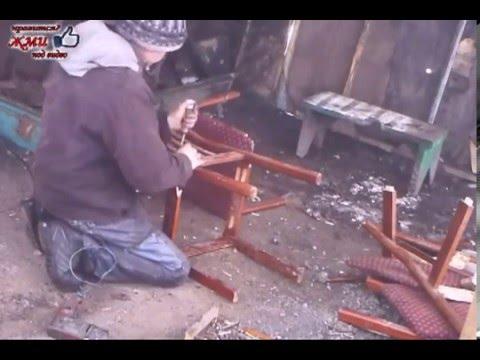 Ролик Как собрать разломанные стулья в домашних условиях Часть 1