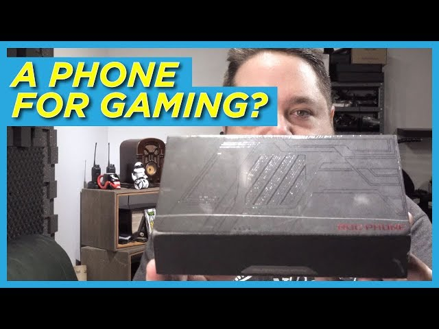 Asus ROG Phone Unboxing and Hands-on