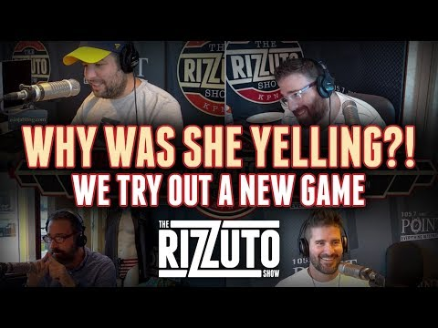 Why Was She Yelling? We try out a new game! [Rizzuto Show]