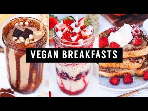 VEGAN SCHOOL BREAKFAST IDEAS  ||  Quick, easy & healthy!