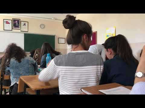Teaching English in a state high school in Turkey