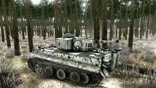 Немецкие Тигры в Непростом Бою ! Танки в Игре Achtung Panzer Операция Звезда