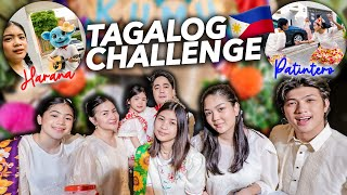 SPEAKING TAGALOG Vlog Challenge?! (Part 2) | Ranz and Niana