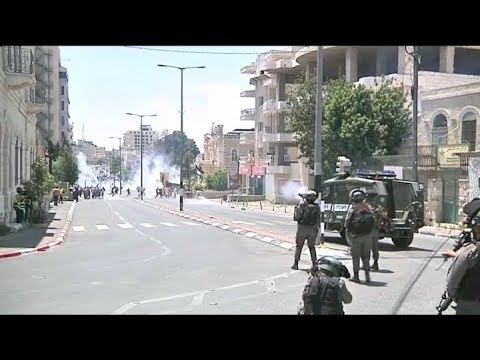 Palestinos Y Tropas Israelíes Se Enfrentaron En Cisjordania