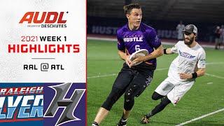 Raleigh Flyers at Atlanta Hustle   Week 1   Game Highlights