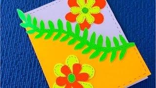 DIY: Подарок маме ✿ Своими руками ✿ Как сделать Открытку своими руками(DIY: Как Сделать Открытку Своими Руками на День рождения. Музыка из фонотеки ютуба - Sour Tennessee Red - John Deley and the..., 2016-06-18T08:00:04.000Z)