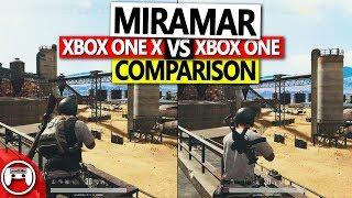 PUBG Xbox Miramar Xbox One X vs. Xbox One Graphics Comparison - Test Server Version