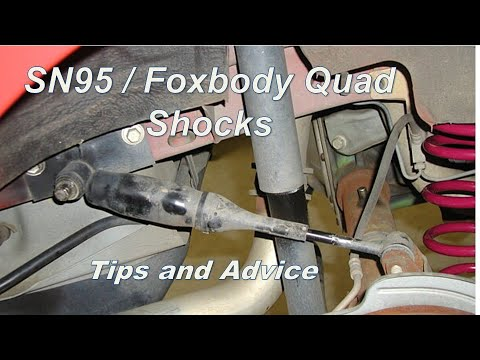 Foxbody SN95 Mustang 79-04 quad shocks/ axle dampeners/ side kickers /axle stabilizer