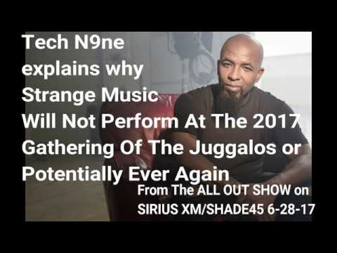 Tech N9ne explains Not Performing At GOTJ 2017 & why it may never happen again