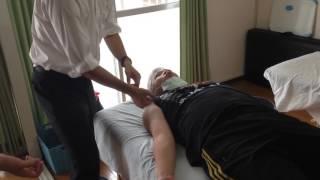 上腕二頭筋、上腕三頭筋への筋膜リリース 上腕三頭筋損傷 検索動画 23