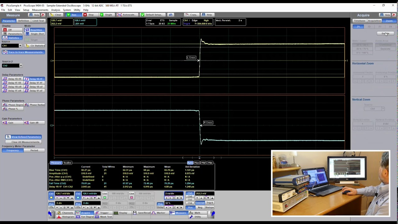 hight resolution of usb oscilloscope combines real time and equivalent time sampling edn asia
