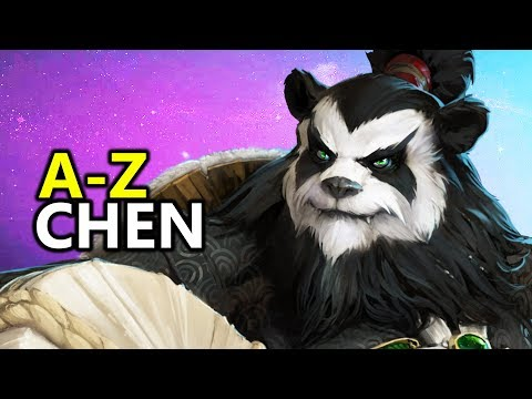 ♥ A - Z Chen - Heroes of the Storm (HotS Gameplay)