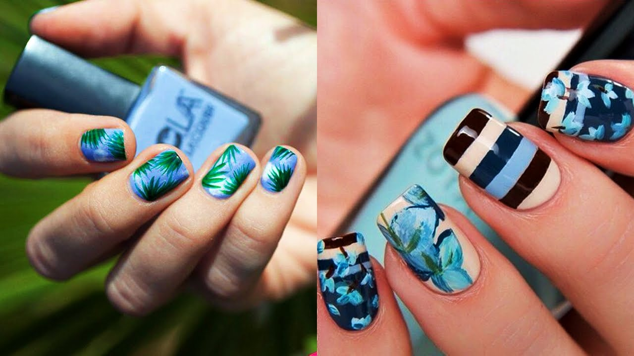 Tendencias 2017 Lindas Decoraciones De Uñas Youtube